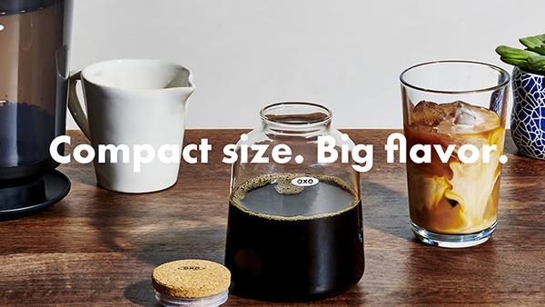 OXO(オクソー)『コールドブリュー濃縮コーヒーメーカー』発売いたします
