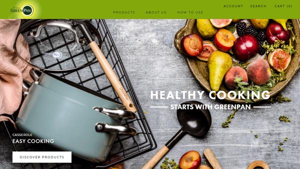 ベルギー発のヘルシークッキングクックウェア「グリーンパン」の公式オンラインストアがオープンしました